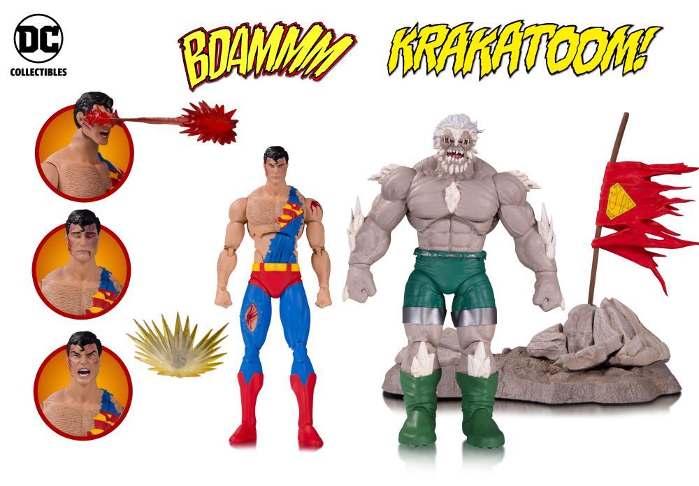 Dc Comics Superman Doomsday Figures Death Of Superman
