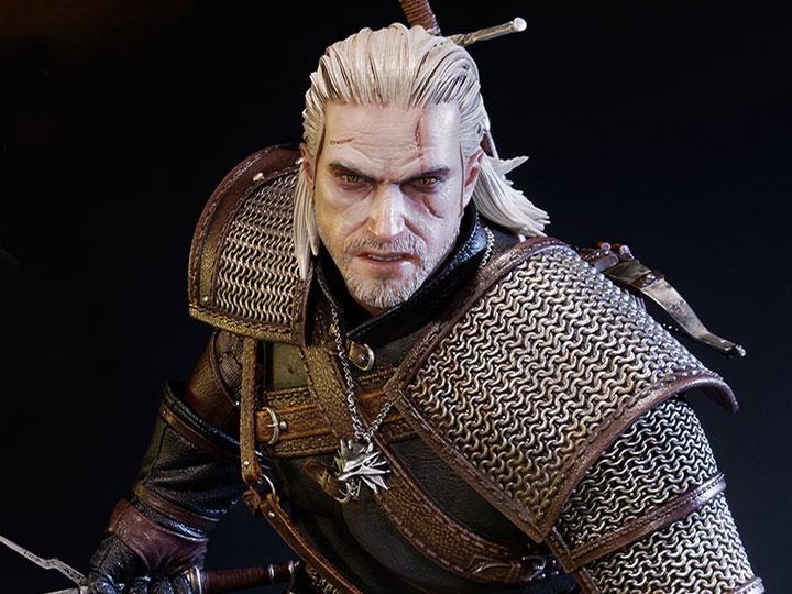 The Witcher 3 Wild Hunt Premium Masterline Geralt Of Rivia