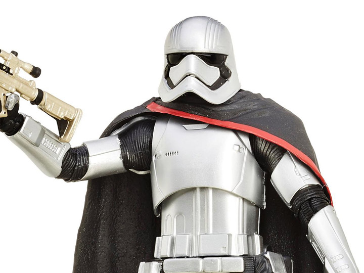 environ 15.24 cm Star Wars Capitaine Phasma Blaster Rifle Black Series 6 In Figure