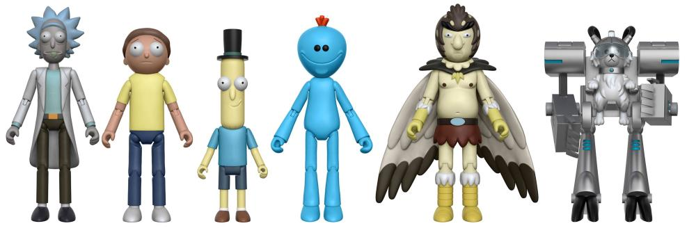 """Funko 5/"""" Articulated Rick and Morty Rick Action Figure New"""