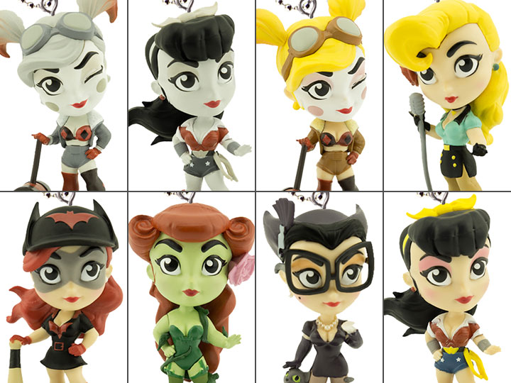 Lil Bombshells DC Comics Backpack Clips Poison Ivy Figure NEW