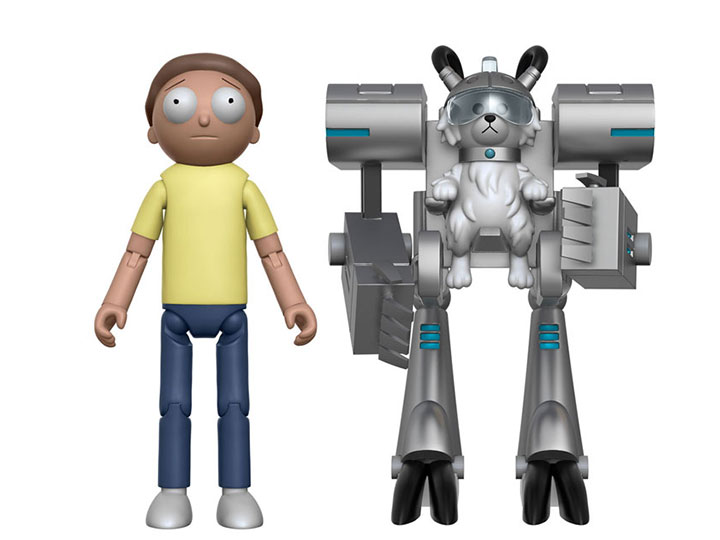 Funko Rick and Morty Morty 5-Inch Articulated Action Figure