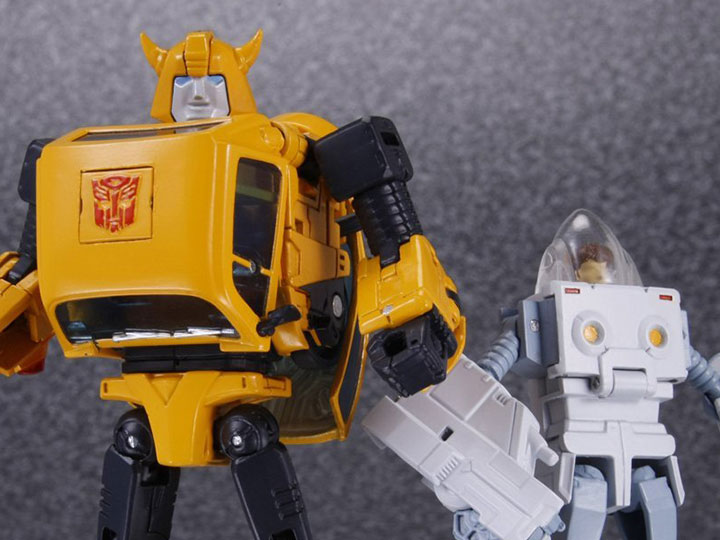 Transformers Masterpiece MP-21 Bumblebee Volkswagen Car Action Figures Toy