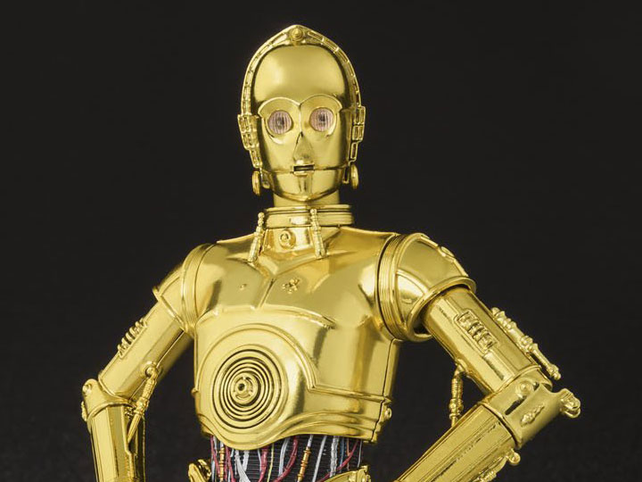 STAR WARS Figuarts Action Figure Bandai C-3PO Episode IV A New Hope S.H