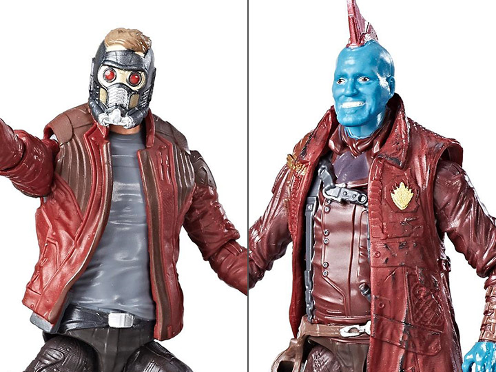 "Marvel Legends Guardians of the Galaxy 3.75/"" Star Lord Yondu Action Figure 2pk"
