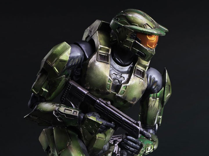 Halo Play Arts Kai Master Chief Anniversary Edition