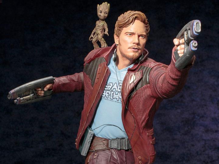 Guardians of the Galaxy Vol 2 ArtFX Star-Lord With Groot Kotobukiya