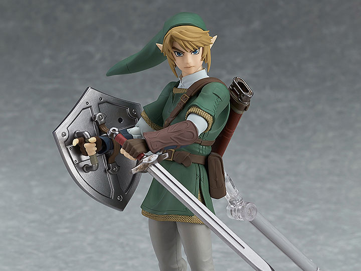 Anime 320# The Legend of Zelda Link PVC Action Figure Model 14CM in Box