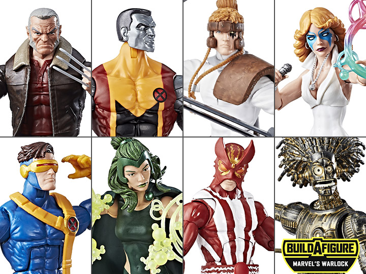 Marvel Legends Sunfire X-Men Wave 2 6 Inch Figure *NO* BAF Warlock New in Box