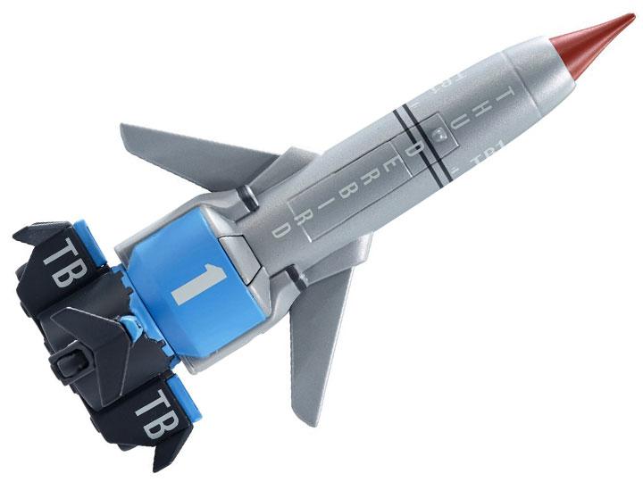 NEW Thunderbird 1 Action Vehicle Thunderbirds