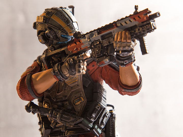 Titanfall 2 Color Tops Collector Edition Red Wave #08 Pilot