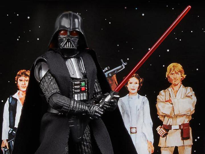 Star Wars The Black Series 40th Anniversary Darth Vader 6 Inch Figure