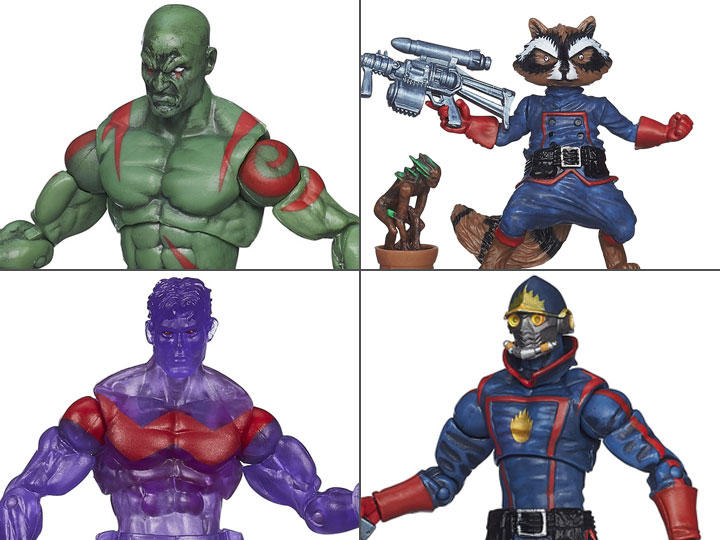Marvel Universe Infinite 3.75 Inch Action Figure Series 4 Drax The Destroyer