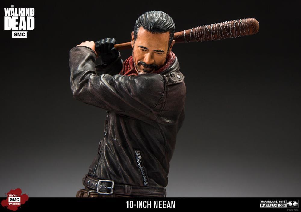 """AMC The Walking Dead negan avec Lucille 10/"""" Deluxe Action Figure McFarlane Toys"""