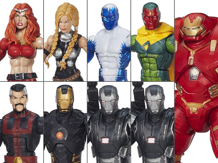 3 New in Box Marvel Hasbro Legends Build A Figure Hulkbuster Infinite Series