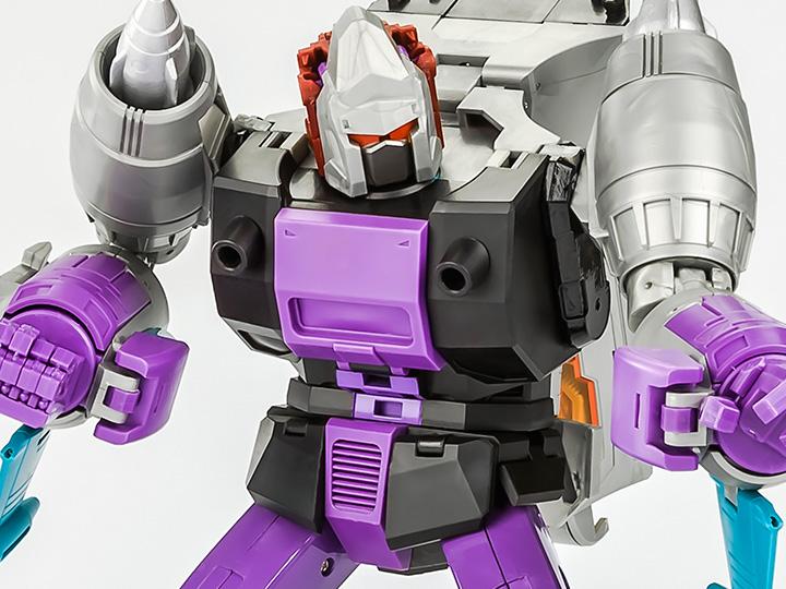 IN STOCK Transformers TOY KFC Eavi Metal Phase 10 A Kingzilla /& Komodus Figure
