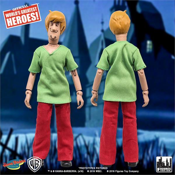 Shaggy Rodgers Figures Toy Company HANNA BARBERA SCOOBY DOO série 1 figurine