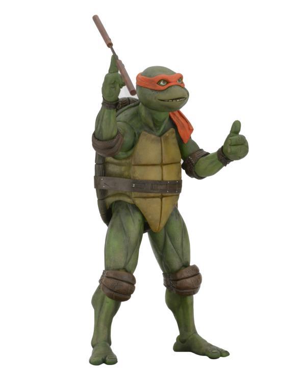 Tmnt 1990 Movie Michelangelo 1 4 Scale Figure