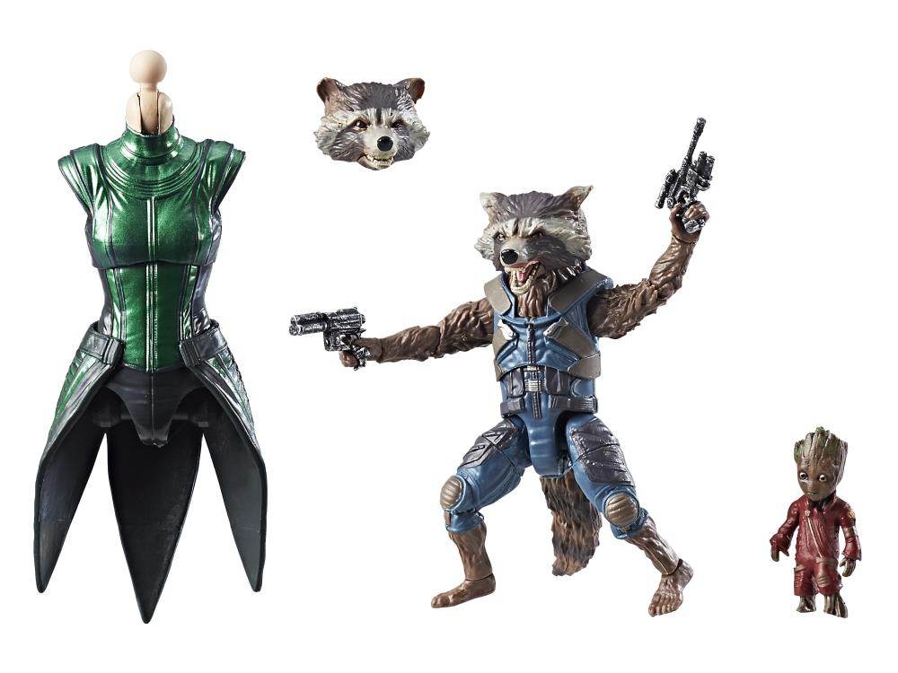 "Marvel Legends 6/"" Figure Rocket Racoon Mantis series excellent /& complete"