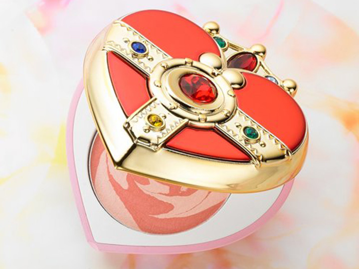 US SELLER Premium BANDAI Sailor Moon Miracle Romance Cosmic Heart Compact Cheek