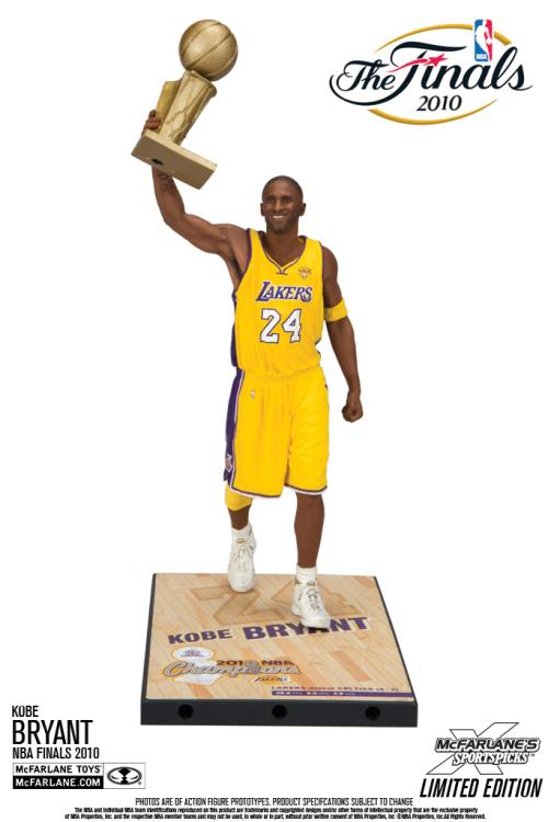 NBA Finals 2009 NBA Championship Series Kobe Bryant Action Figure