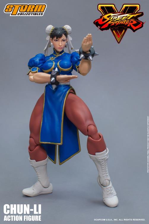 1//12 Scale LIMITED EDITION Street Fighter Chun Li Figure Set ☆USA IN STOCK☆