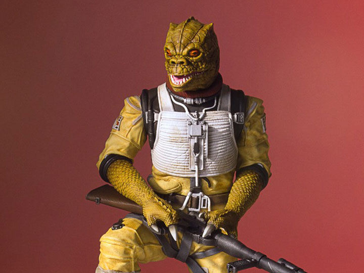 Star Wars Collector S Gallery Bossk Statue
