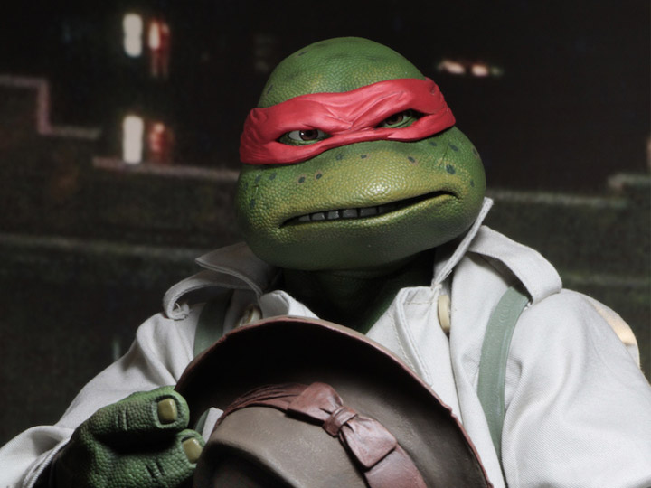 Tmnt 1990 Movie Raphael In Disguise 1 4 Scale Figure