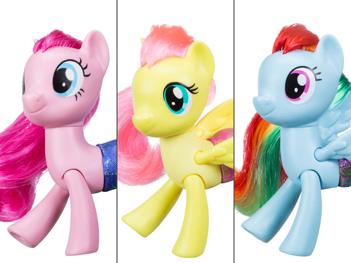 Hasbro My Little Pony the Movie Land /& Sea Rainbow Dash Seapony Figure-New Box