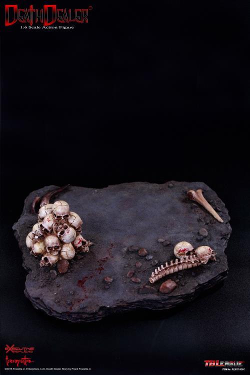 FRAZETTA Hell on Earth Death Dealer 1//6 Scale Throne with Base
