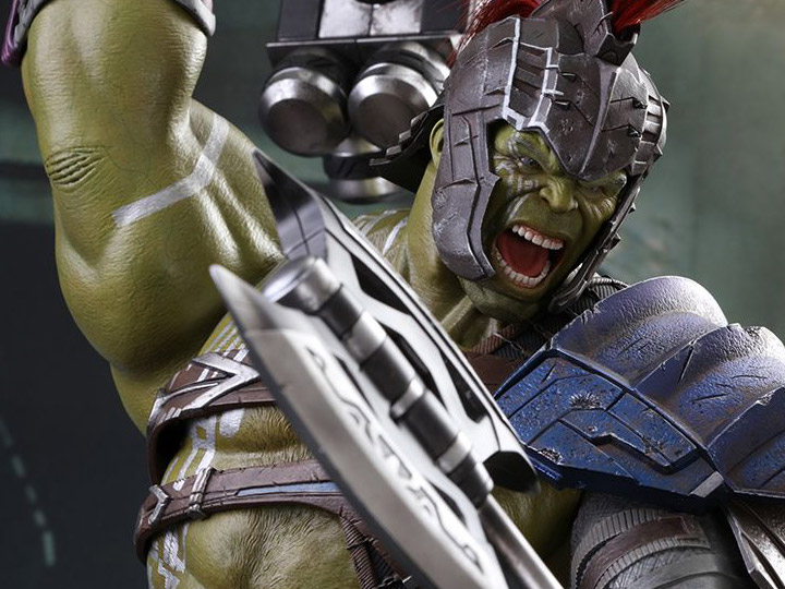 Thor Ragnarok Mms430 Gladiator Hulk 1 6th Scale Collectible Figure