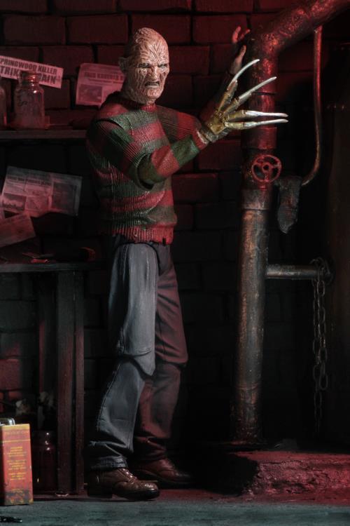NECA Nightmare on Elm Street parte 2 Ultimate Freddy Krueger Figura-Ufficiale