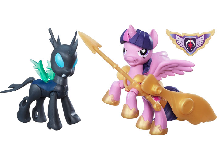 MY LITTLE PONY GUARDIANS OF HARMONY PRINCESS TWILIGHT SPARKLE VS CHANGELING