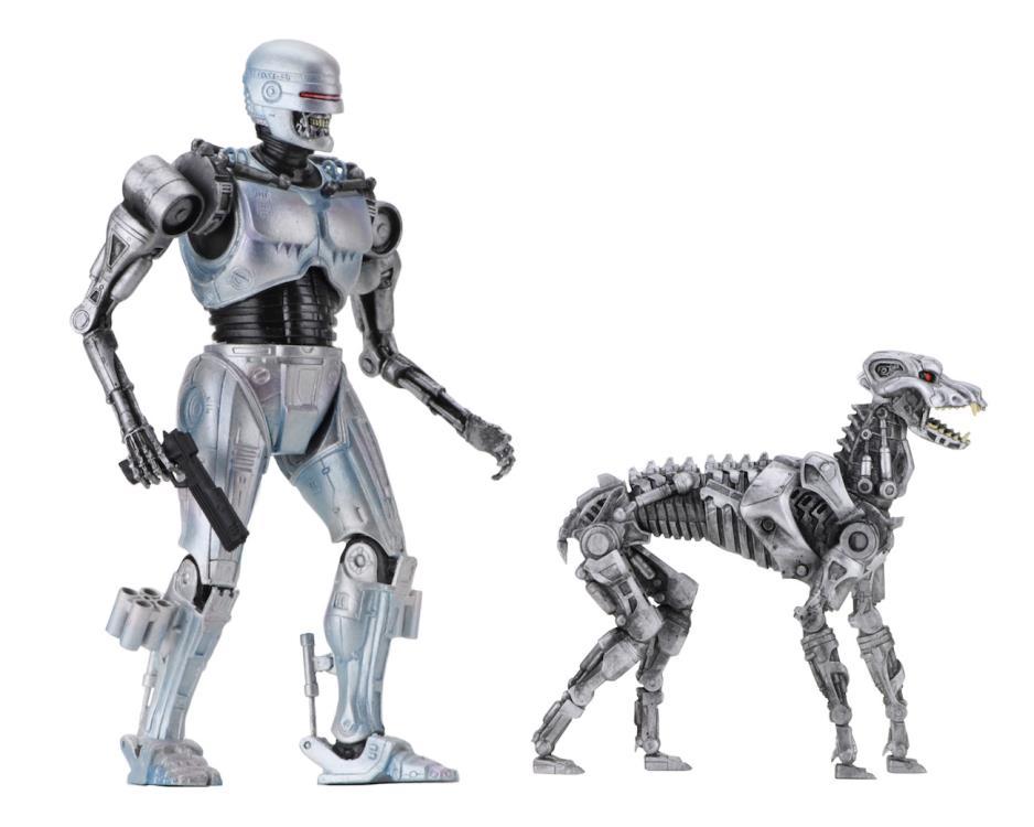 Robocop avec Terminator Chien Figure De Robocop versus Terminator 42078