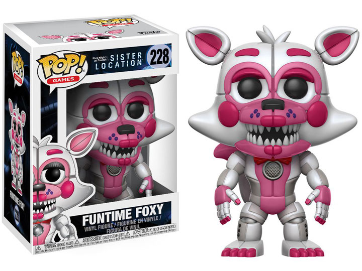 Funko POP Games Sister Location Baby Brand New In Box