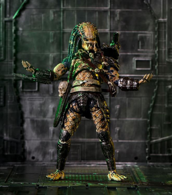 4/'/' Figure Collectible New HIYAToys 1//18 LP0091 Predators Elder Predator V2 Ver