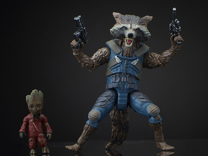 MARVEL LEGENDS GUARDIANS OF THE GALAXY VOL 2 ROCKET RACOON AND GROOT