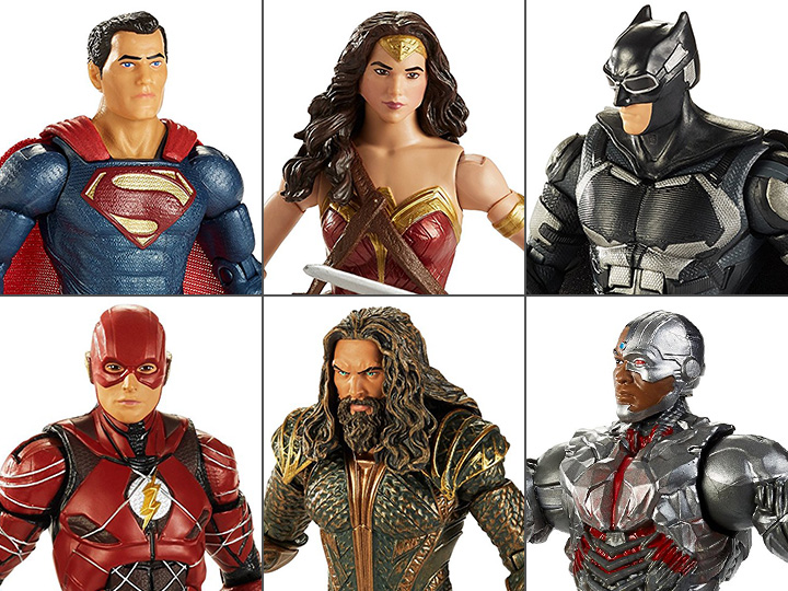 DC Multiverse Justice League Batman 6/' Action Figure New Mint   Steppenwolf  baf