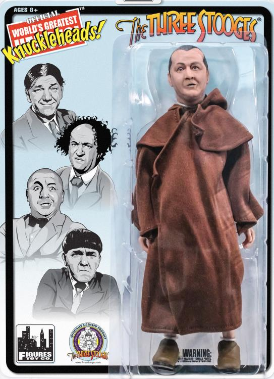 Monk Curly The Three Stooges 8 Inch Action Figures