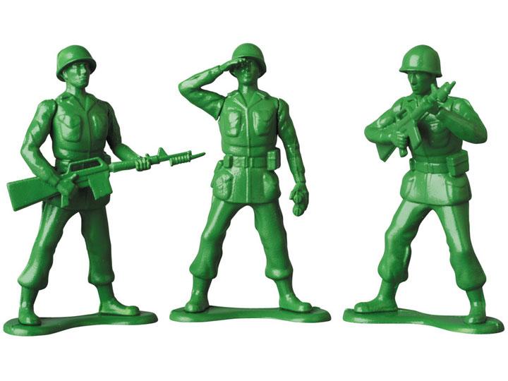 Medicom Disney Pixar Toy Story Green Army Men Ultra Detail Figure