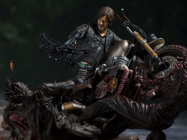 McFarlane Toys The Walking Dead Daryl Dixon Limited Edition Resin Statue