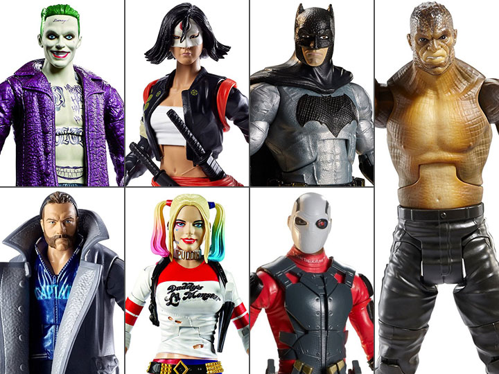 Adulto Joker KILLER CROC DEADSHOT SQUADRA suicida DC Costume Halloween