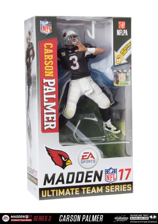 Arizona Cardinals Palmer C #3 Flathlete Figurine