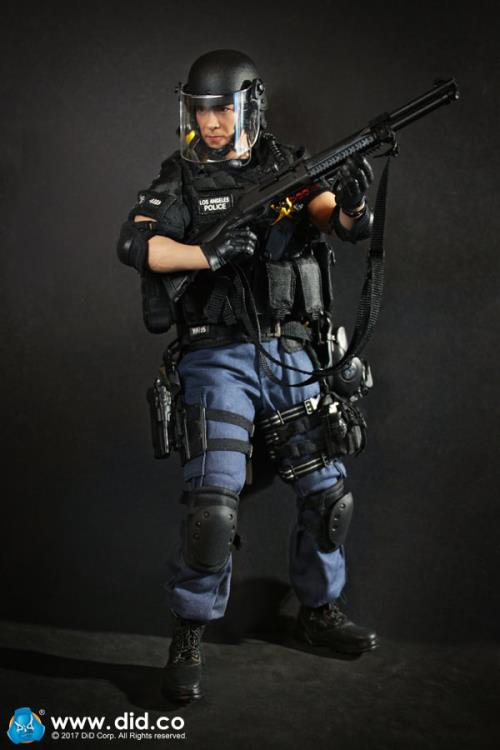 DID LAPD Special Weapons and Tactics 3.0 Yamada Genouillères 1//6 Jouets Dragon POLICE SOLDAT GI JOE DID Dam