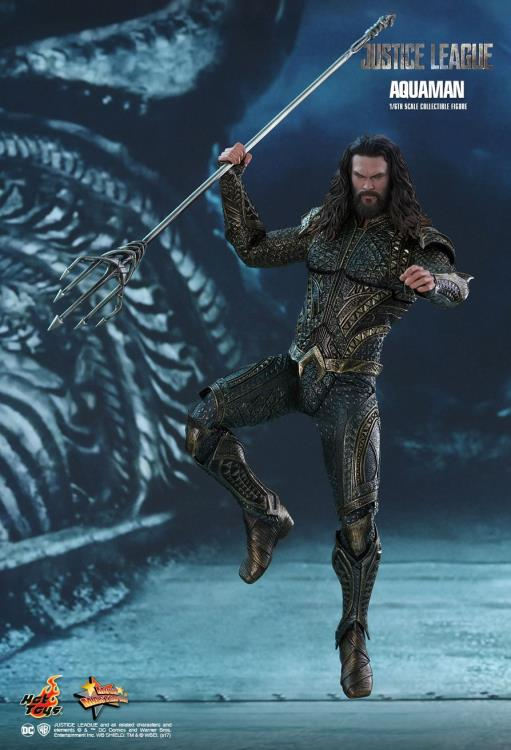 1//6 Hot Toys Action Figure DC Comics Justice League Aquaman Jason Momoa MMS447