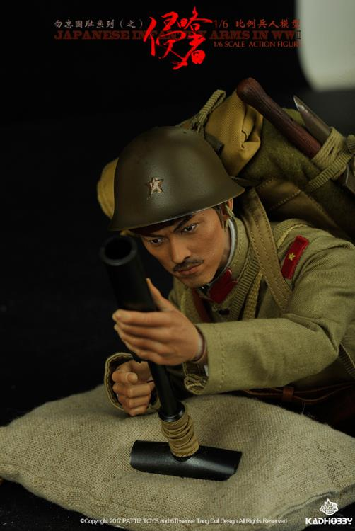 PATTIZ TOYS 1:6TH échelle WW2 Japanese Infantry Arisaka Rifle CB38324