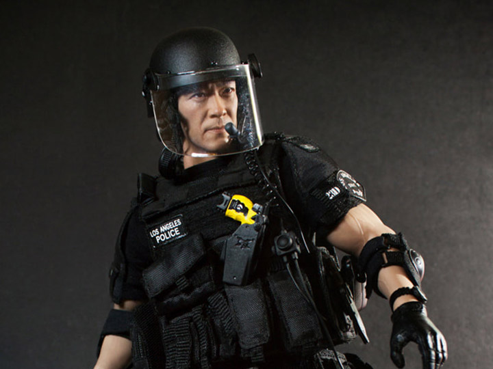 Special Weapons and Tactics Takeshi Yamada-Knife /& Gaine 1//6 Scale-DID Action Figures