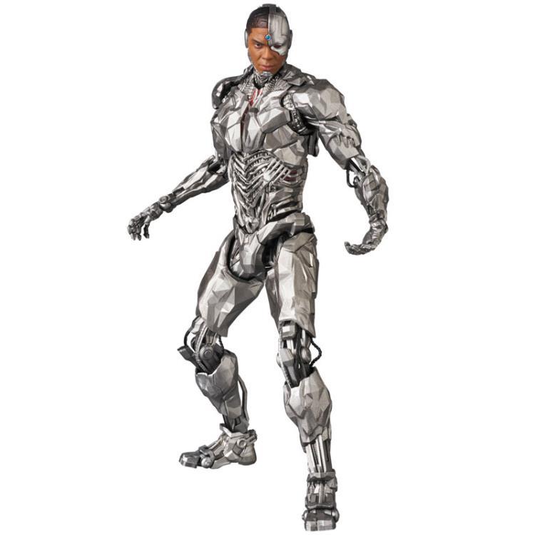 Justice League Cyborg Action Figure Medicom MAFEX 063