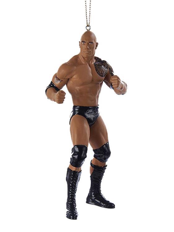NEW WWE ORNAMENT LOT OF 3 UNDERTAKER ROCK STONE COLD STEVE AUSTIN Kurt Alder