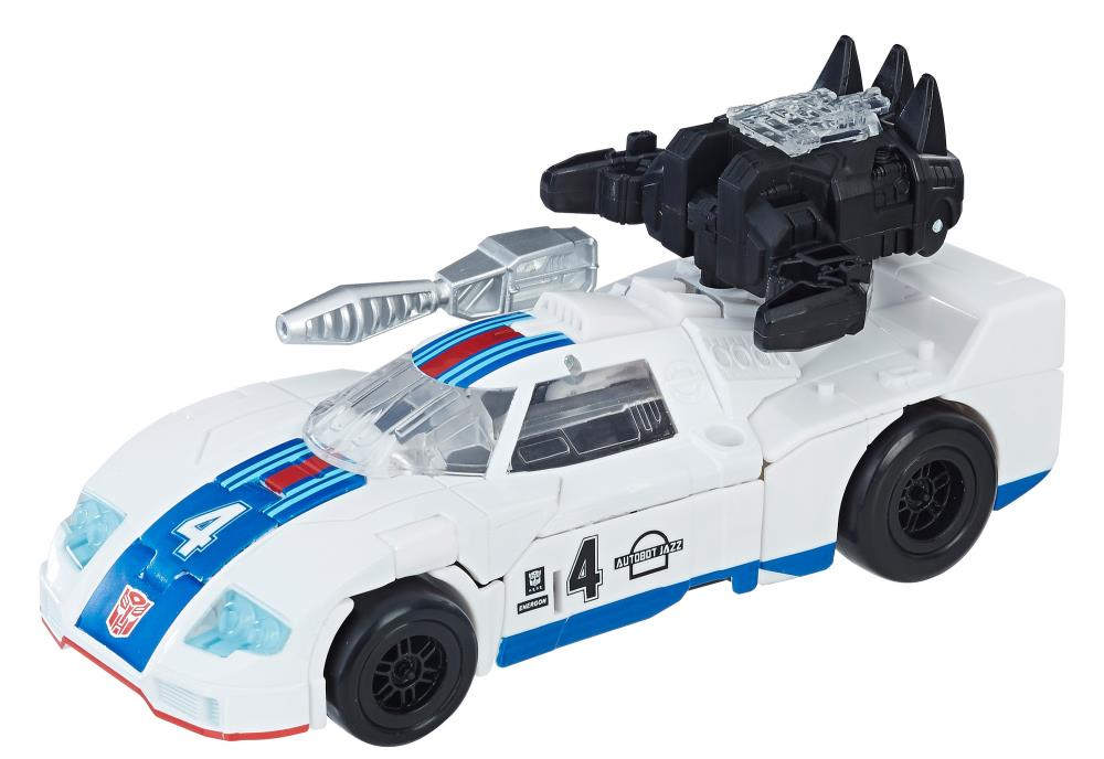 Generations Power of the Primes Deluxe Class Autobot Jazz Mint Box Transformers